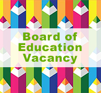 Board of Education appointed Mr. Keith Coleman to fill this board vacancy