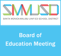 SMMUSD Special Board Meeting - January 21, 2021