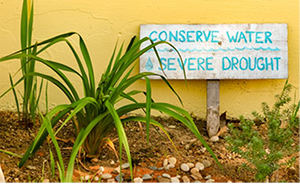 SMMUSD conserve water sign